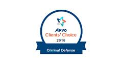 Avvo Clients'Choice